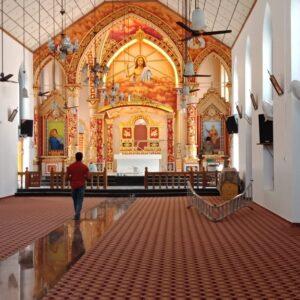 chengannur church painting